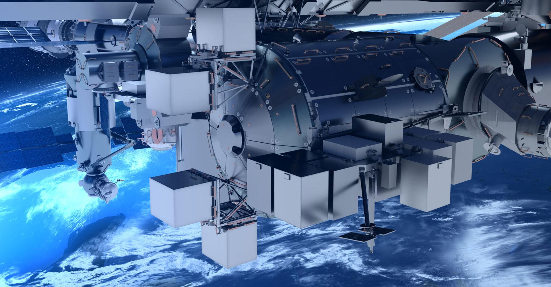 Bartolomeo, ISS © AIRBUS