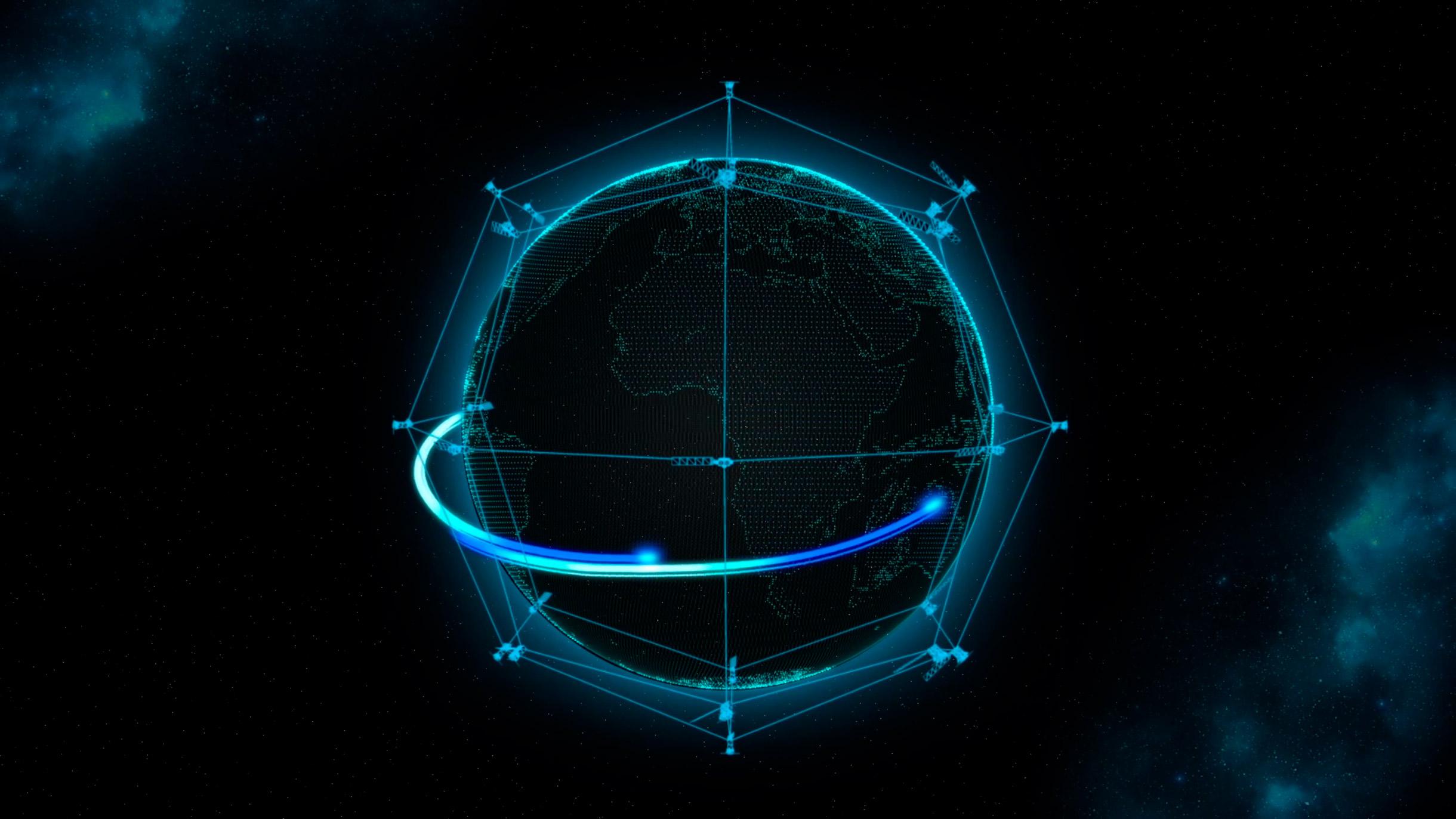 TESAT Laser Constellation Network