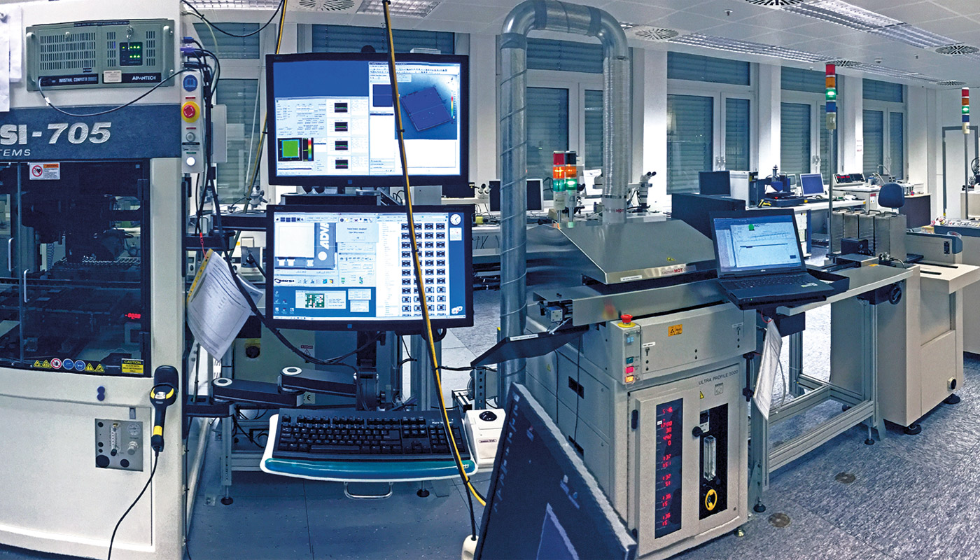 Hybrid Manufacturing Line © TESAT
